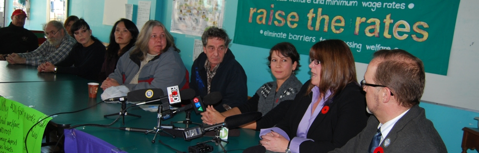 Photo of the closing press conference for the 2015 Welfare Food Challenge